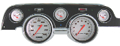 Velocity Series White Gauge Package