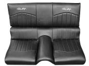Carroll Shelby Signature Rear Seat Covers for Fastbacks